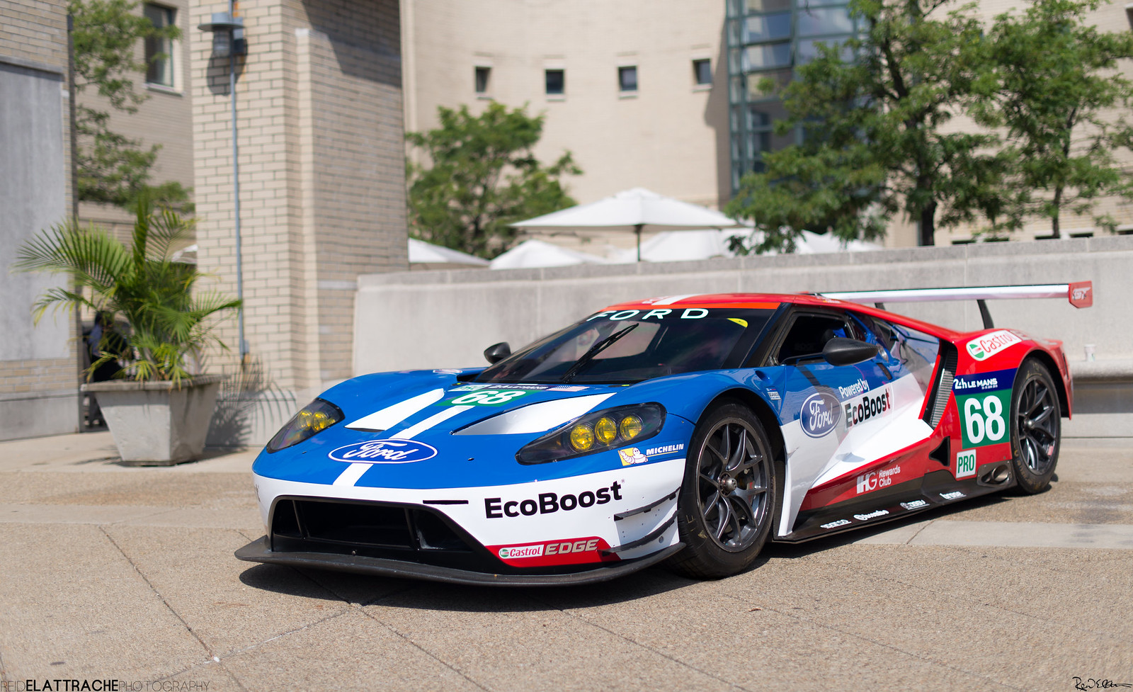 Ford Gt Hrs Lemans Winner Lm Gte Pro Class Chip Ganassi Racing