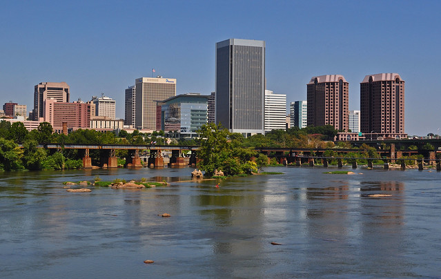 Belle Isle - Richmond Skyline
