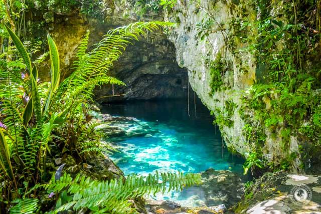 Dudu Cenote Near Sosua Dominican Republic