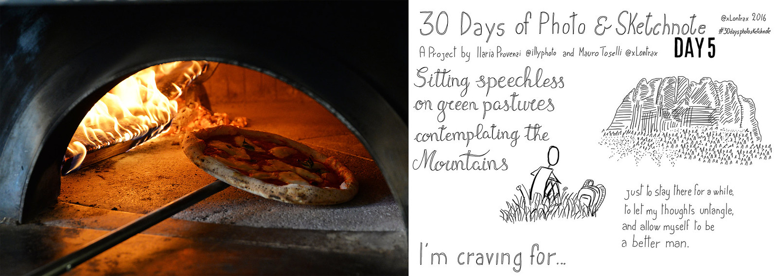Day 05. Ho una voglia pazzesca di... - I'm really craving for...