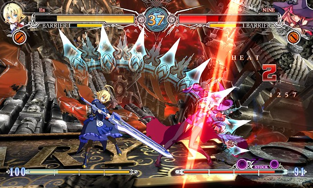 скачать игру Blazblue Central Fiction - фото 7