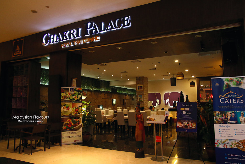 Chakri palace authentic thai cuisine pavilion kl for Authentic thai cuisine