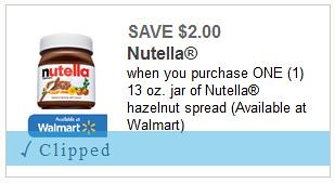 graphic relating to Nutella Printable Coupon known as $1.00 Nutella Unfold at Meijer with Printable Coupon!