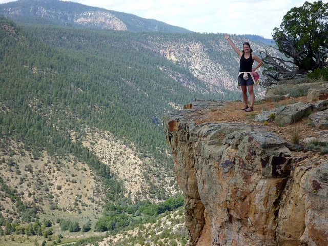 Jenny on Navajo Peak