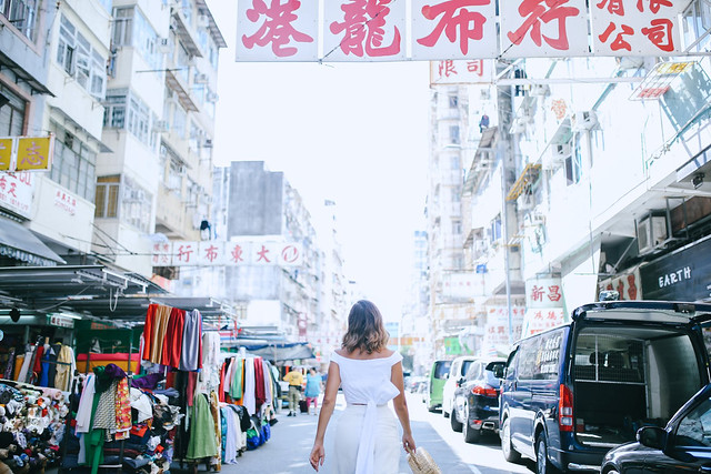 Fabric Shopping in Hong Kong
