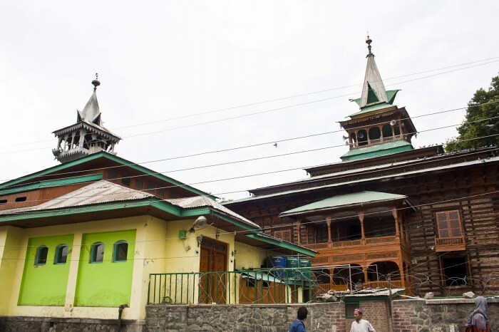 Ziyarat Naqshband Sahab in Srinagar, Jammu and Kashmir, India