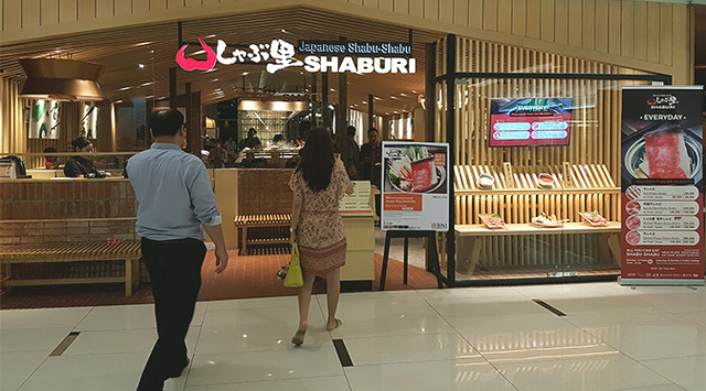 Japanese Shabu-Shabu SHABURI Restaurant ini Terletak di Senayan City Lantai 4. Tidak Sulit Menemukan Tempat Ini Bagi Pengguna Eskalator