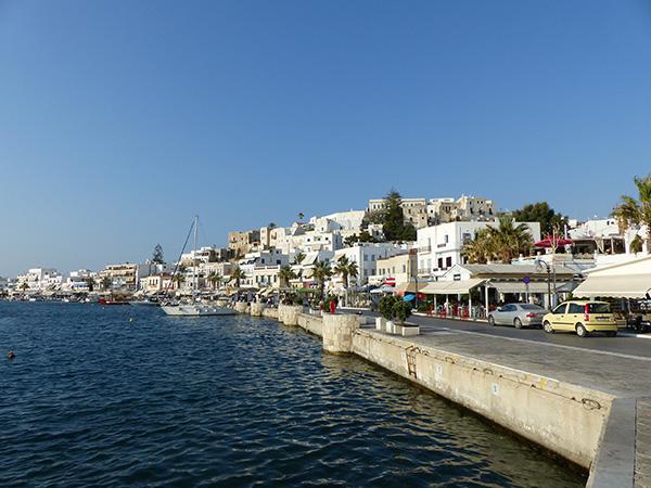 le port de Naxos