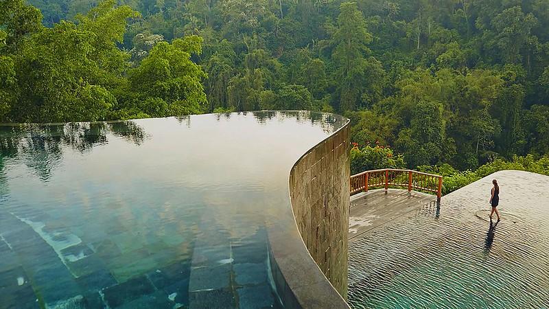 Панорамный бассейн Hanging Gardens of Bali, Бали, Индонезия