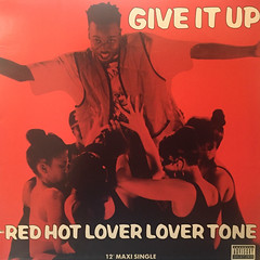 RED HOT LOVER LOVER TONE:GIVE IT UP(JACKET A)