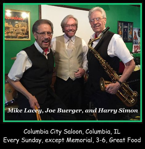 Mike Lacey, Joe Buerger, and Harry Simon 8-21-16