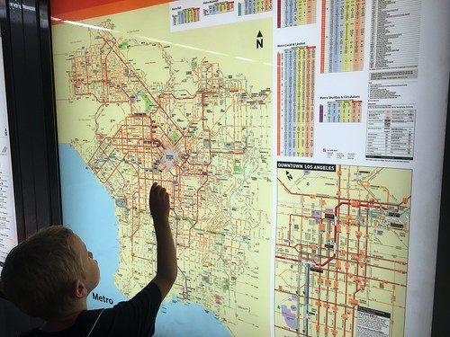 Arlo with LA Metro Map