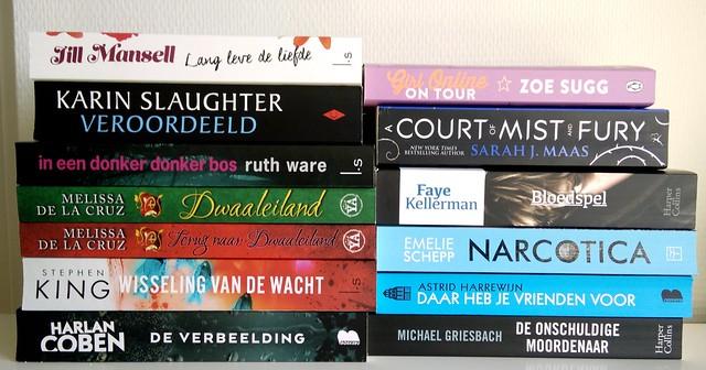 Gelezen boeken augustus 2016