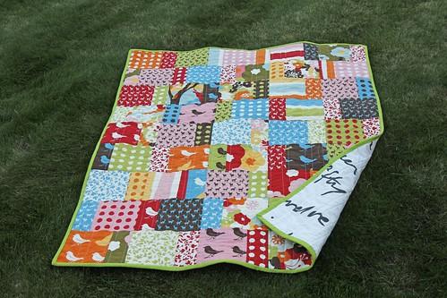 Oh Deer Baby quilt