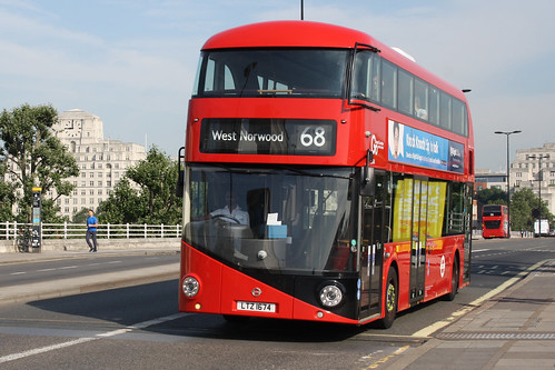 London Central LT674 LTZ1674