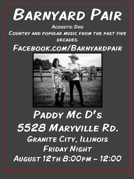 Barnyard Pair 8-12-16