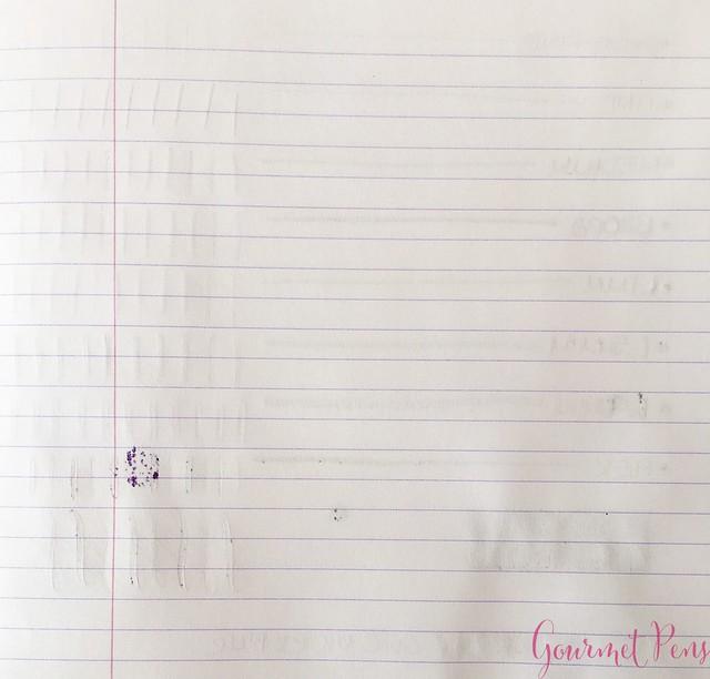Ink Shot Review Graf Von Faber-Castell Violet Blue @AppelboomLaren 6
