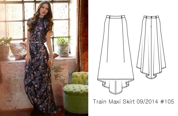 4bced37d0e9 My favorite thing about this maxi skirt is the gorgeous train
