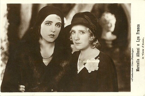 Marcella Albani and Lya Franca in Corte d'Assise