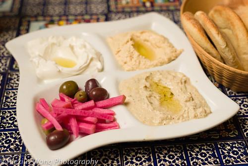 Trio Dippers - Hummus, Babaghanouj, Labneh