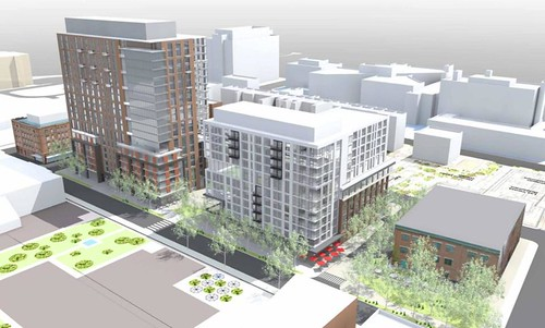 Old Harrison Albany Block Renderings