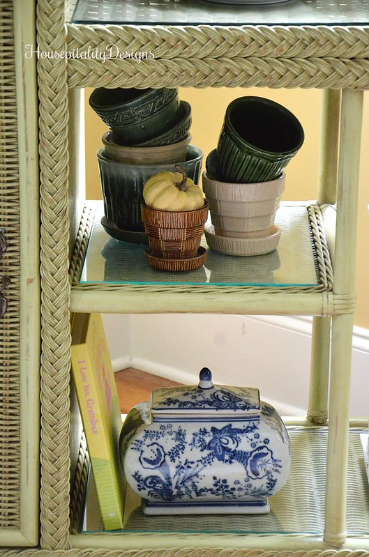 Potting Bench - Vintage Flower Pots - Housepitality Designs