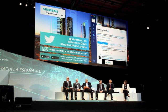 Siemens Days | Ingenio para la Vida. Juntos hacia la Espa�a 4.0 (27 septiembre)