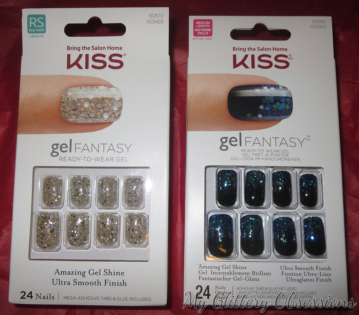 gel fantasy nails