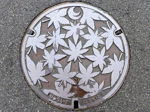 Hiroshima pref manhole cover 2 (広島県のマンホール2)