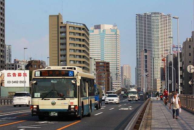 2016/08/12 東京都交通局 M205