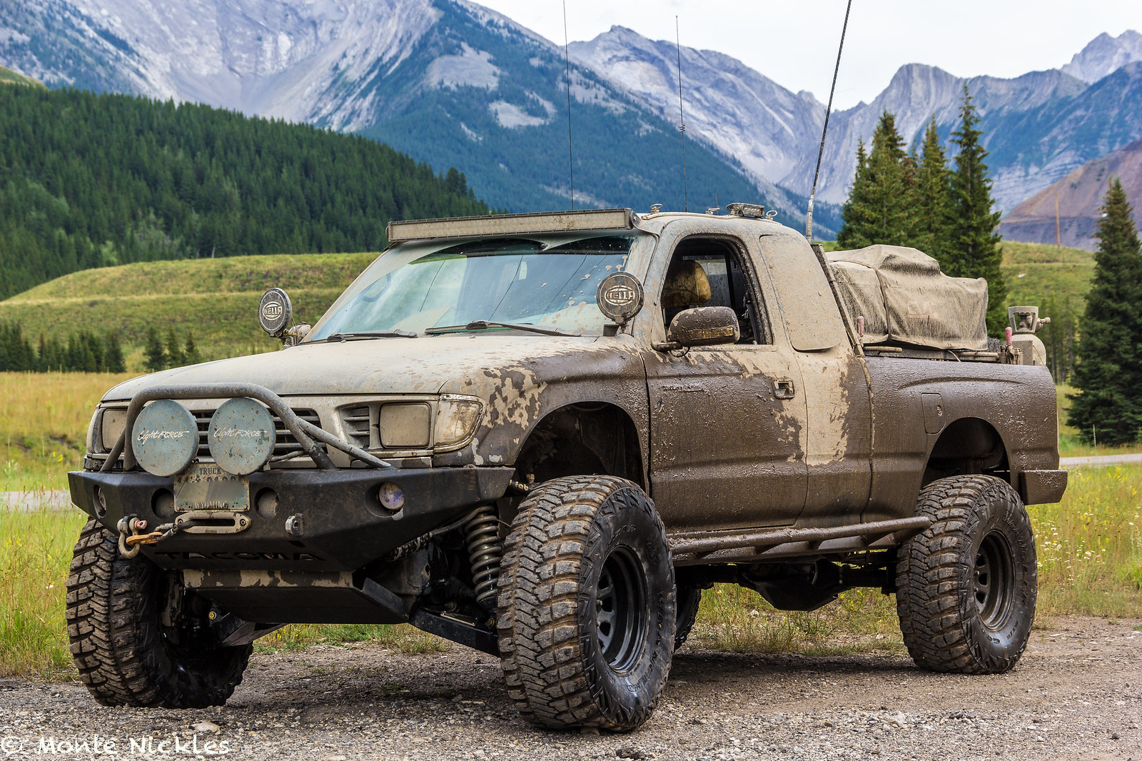 The Frankenstein Build 1996 Tacoma Long Travel Expo Trail Rig