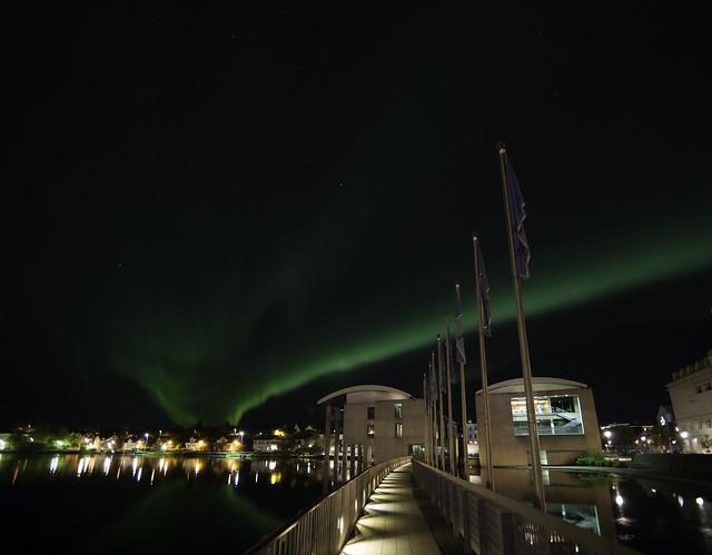 Ráðhús Reykjavíkur Aurora