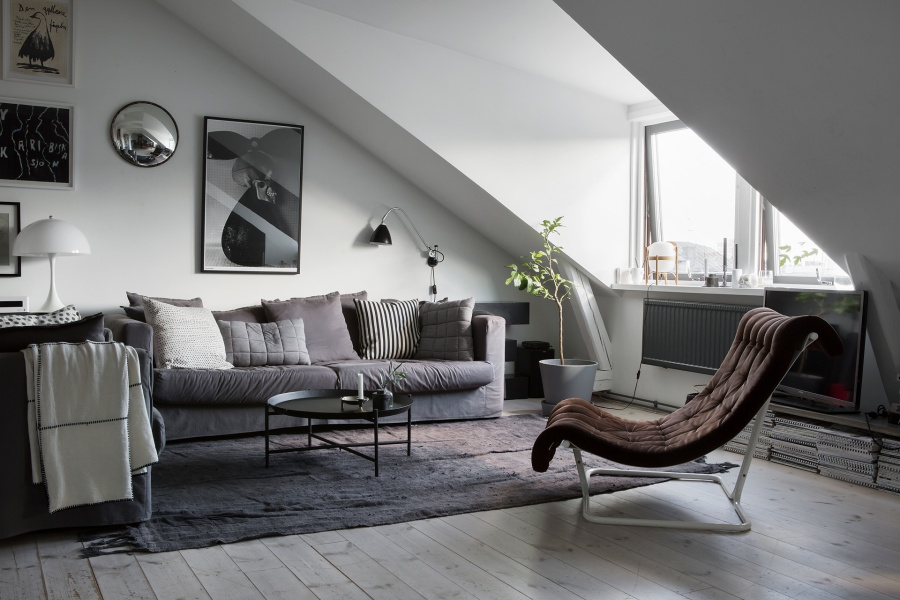 Scandinavian Rooftop Apartment