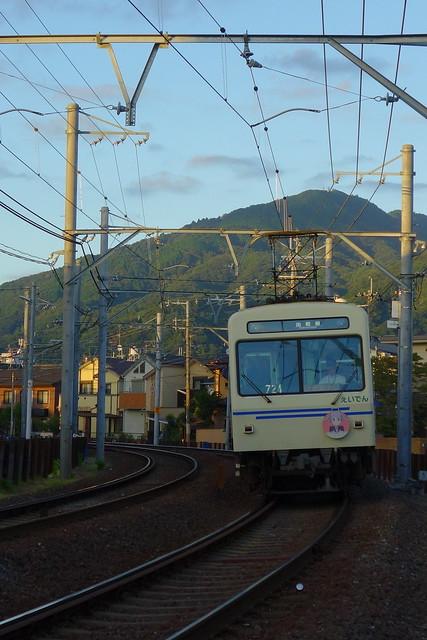 2016/08 叡山電車×NEW GAME! 2016アニメ版ラッピング車両 #29