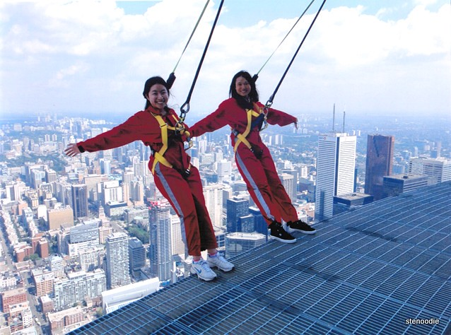 EdgeWalk on the CN Tower
