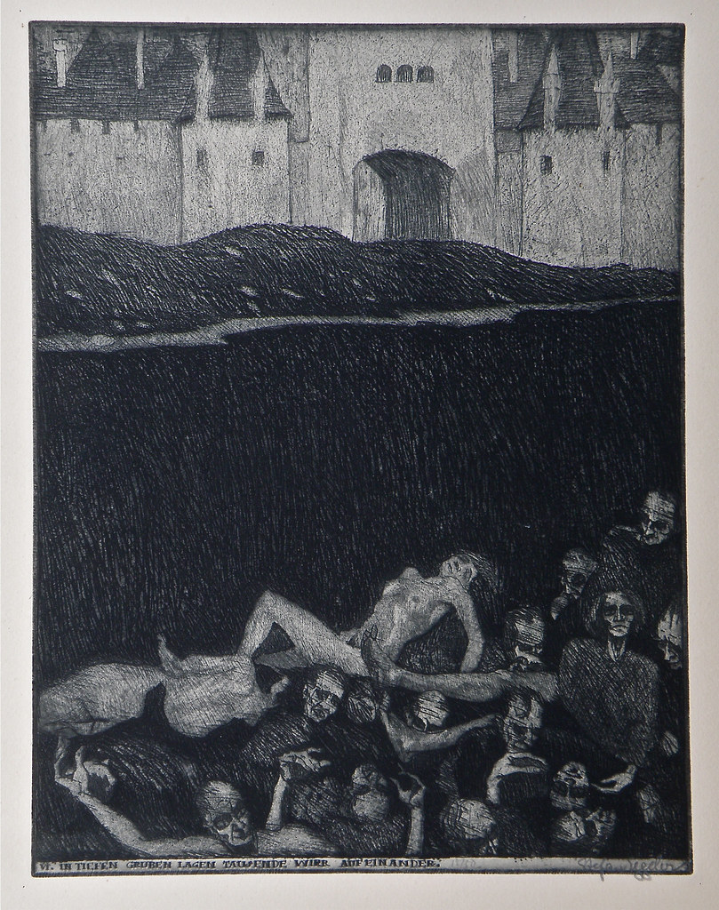 Stefan Eggeler - The Plague of Pestilence, 1920 (6)