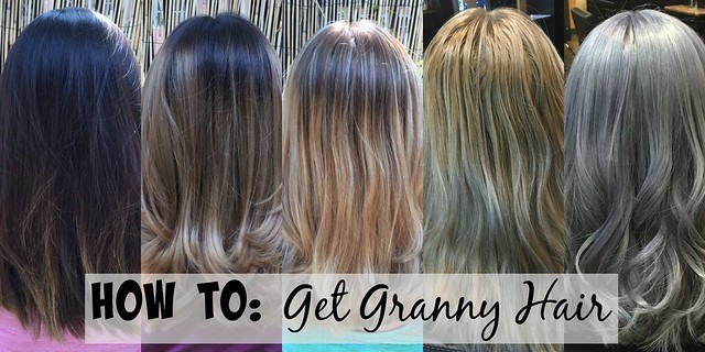 How To: Get #GrannyHair