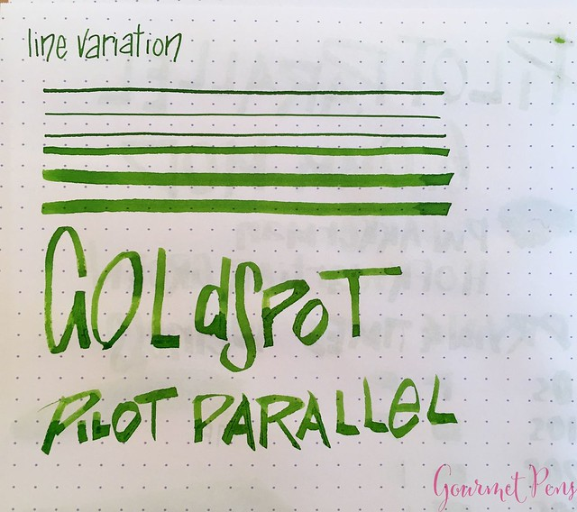 Review Pilot Parallel Modified Naifu Folded Nib @GoldspotPens @PilotPenUSA 17