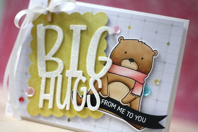 Neat & Tangled-Big Hugs die & Beary Merry