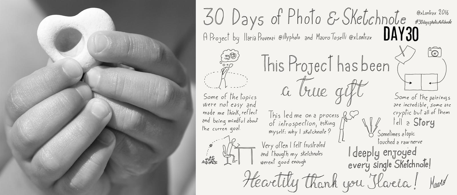 Day 30. Questo progetto è stato... - This project has been...