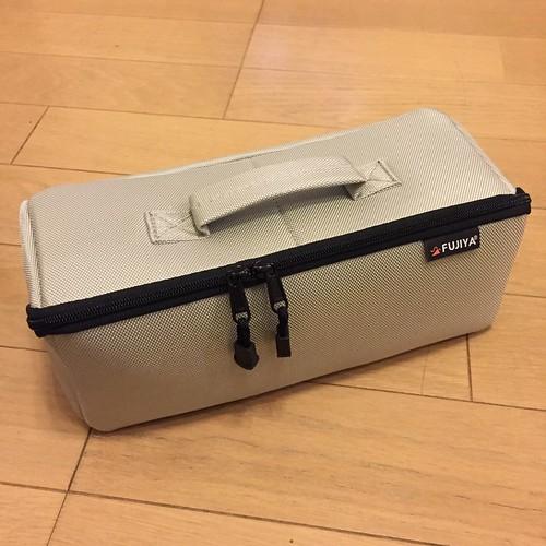 フジ矢 FTC2-LIG ヒッポケース(布製工具ケース)Lサイズ・アイスグレー