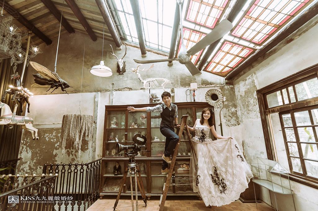 [高雄婚紗推薦]Kiss九九為我和歐爸拍出唯美又韓風的婚紗照 (4)