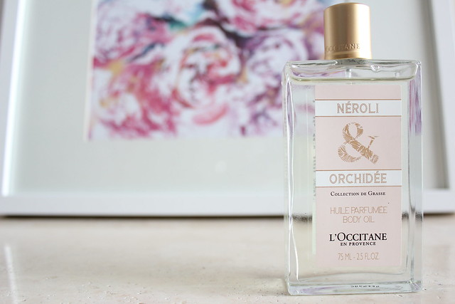 L'Occitane en Provence Neroli & Orchidee Perfumed Body Oil review