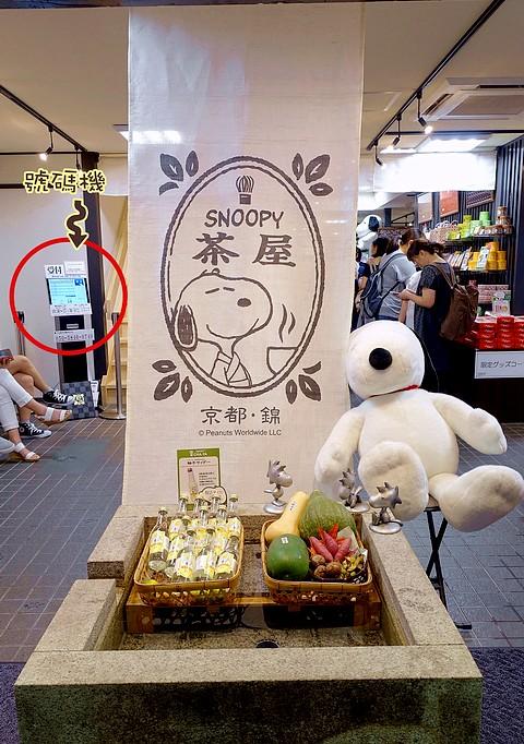 日本史努比茶屋京都必吃錦市場2