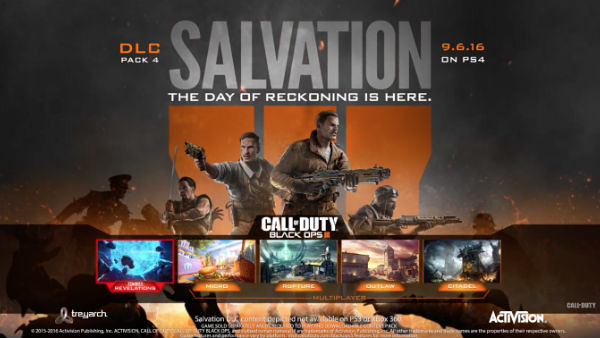 Black Ops 3 Salvation DLC  Revelations Trailer revealed