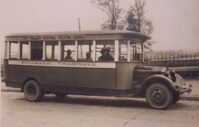 Brisbane's proud bus history