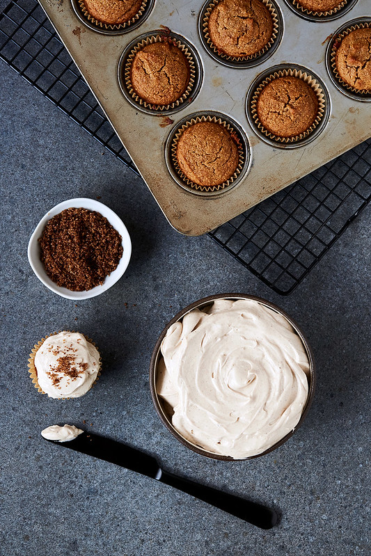 Grain-free Churro Cupcakes
