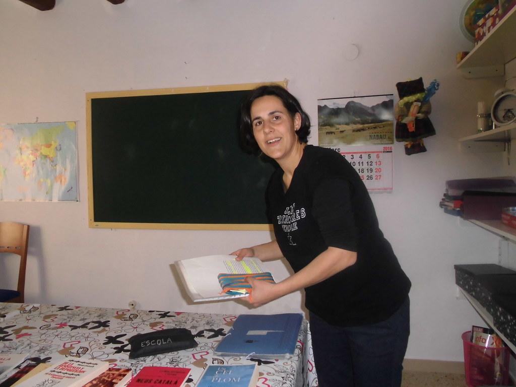 Tertúlia-xerrada sobre Neus Català, supervivent dels camps d'extermini nazis (Preixens, 2016)