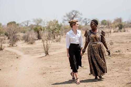 UN Women Goodwill Ambassador Emma Watson visits Malawi