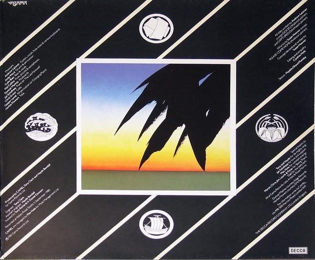"Camel Nude 12"" vinyl LP"